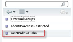 Cisco ISE Attribute selection