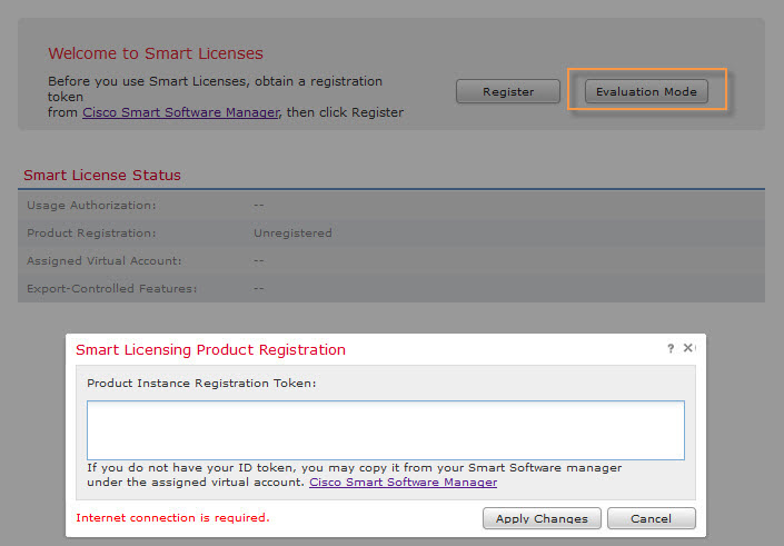 Cisco FirePOWER Smart Licenses – FINKOTEK