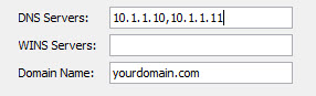 ASA Anyconnect DNS servers