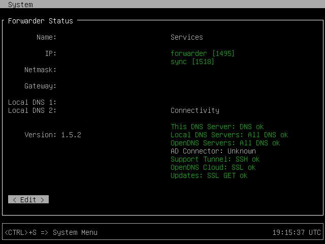 ASA Anyconnect OpenDNS Virtual Applinace Setup