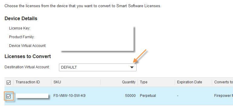 FirePOWER Smart License 13