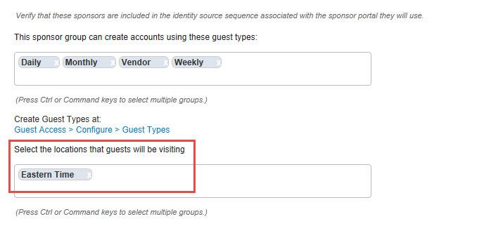 Cisco ISE: Guest account not active error – FINKOTEK