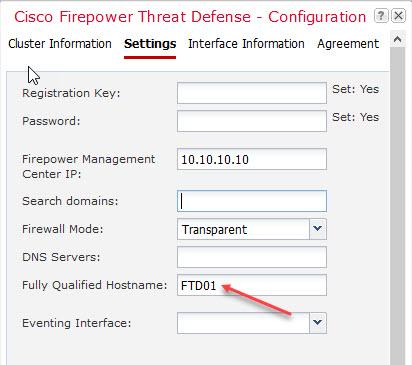 Cisco 4100 Clustering  Part 2: FTD Setup – FINKOTEK