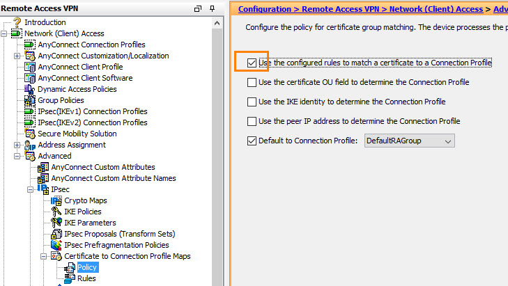 Cisco ASA: VPN on Avaya IP Phone with Certificate Authentication and
