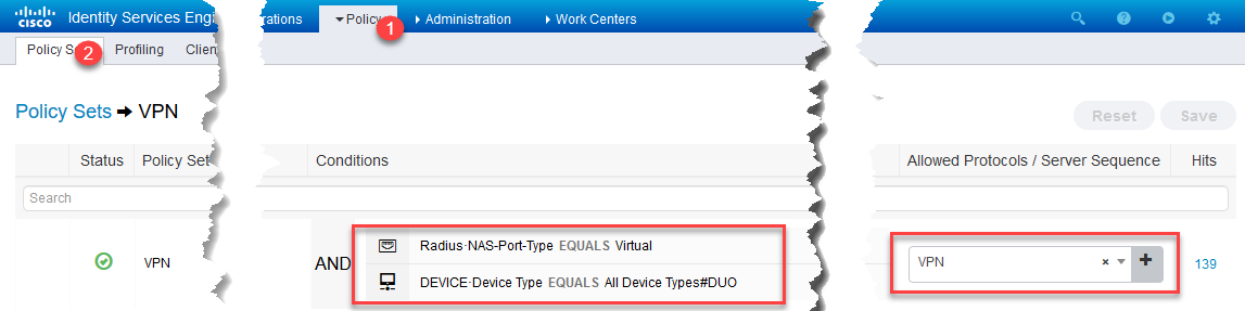 DUO MFA with Cisco Anyconnect and ISE – FINKOTEK